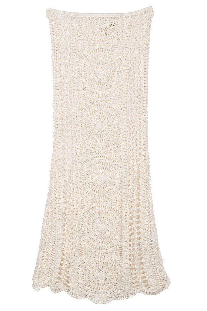 Cleobella ||  Эшли юбка цвета слоновой кости