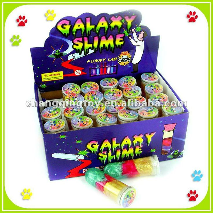 Funny Slime putty toy,Tube Scienitsts Galaxy Slime toy $0.051~$0.22
