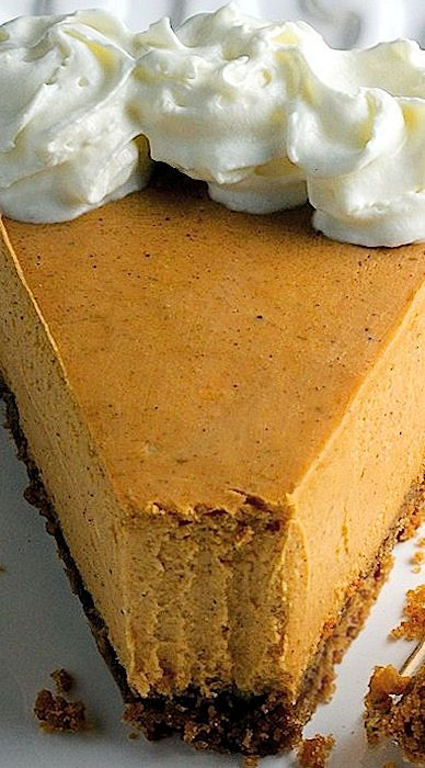 Creamy Greek Yogurt Pumpkin Pie Cheesecake