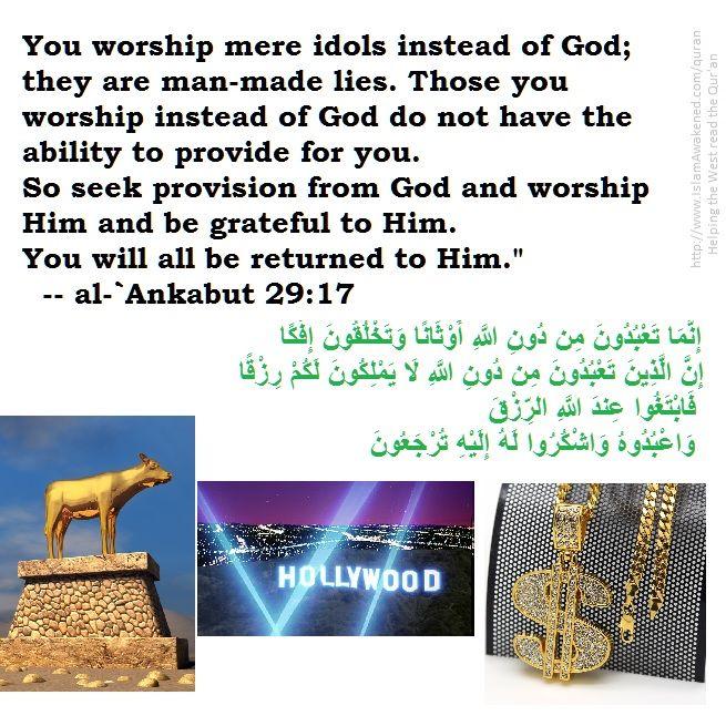 al-`Ankabut 29:17 as rendered by Safi Kaskas