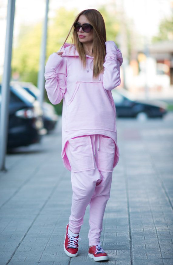 Baby Pink Hooded Sports Jacket Pink Hooded Sweatshirt With