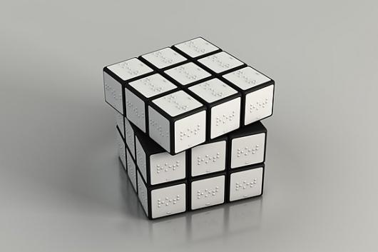 Braille Rubik's CubeBlinds People, Braille Rubik, Braille Rubrik, Rubix Cube, Rubik Cubes, Konstantin Datz, Rubrik Cubes, Products, Design