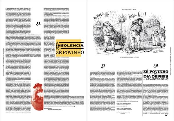 O Zé Povinho no País das Maravilhas by Vera Gomes, via Behance