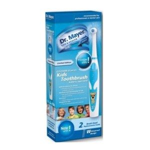 Periuta Electrica Copii Dr. Mayer GTS1000K-B Dr.Mayer Kids ii invata pe copii sa se spele pe dinti si sa respecte timpul recomandat pentru periaj.