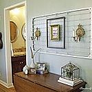 Hometalk :: Gallery Wall for Small Wall. 5 of 5 White and Silver Décor Accent
