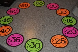 Clock minutes  Math Freebie..will be making these soon before we start our time unit