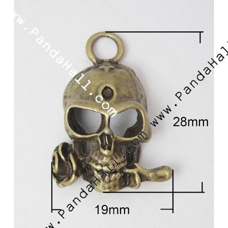 Metal Alloy Pendants PALLOY-A14724-AB-1