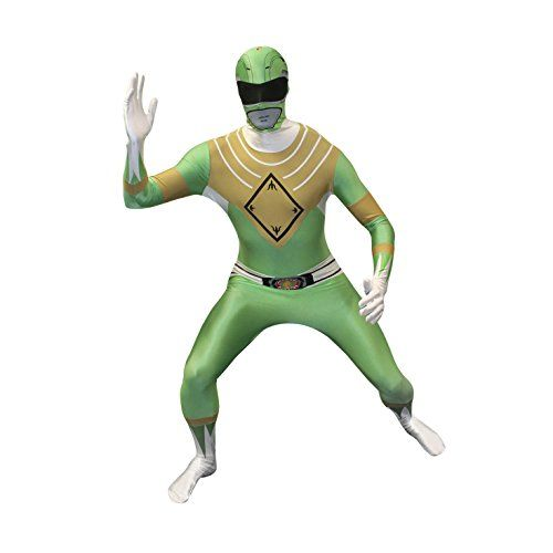 Official Green Power Ranger Morphsuit Costume