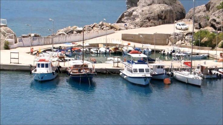 Kolymbia Rodos - Widok na plażę i zatokę |Rhodes Kolympia|