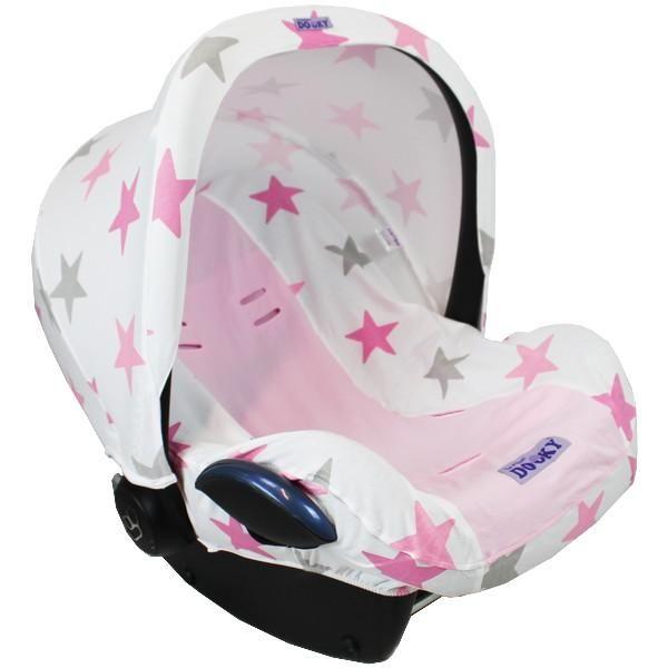 Dooky hoody pink stars
