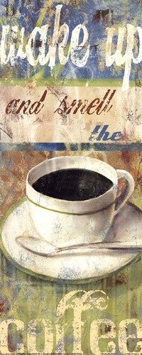 Wake up and smell the #coffee