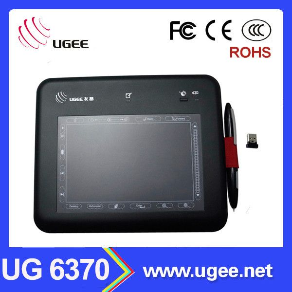 6x4 inch Ug 6370 graphics tablet Didital pen for pc