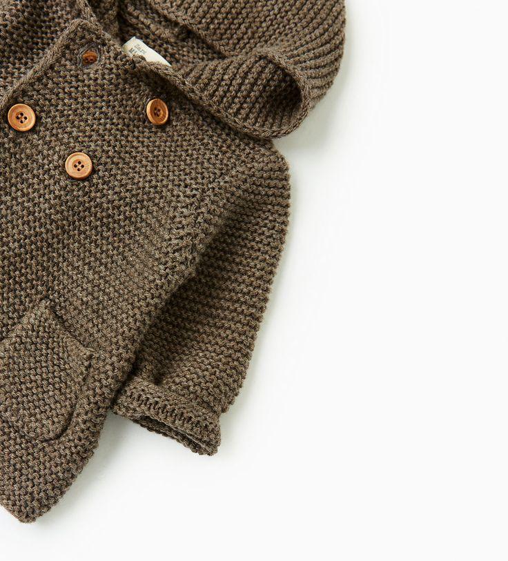 Hooded cardigan-NEW IN-MINI | 0-12 months-KIDS | ZARA United Kingdom