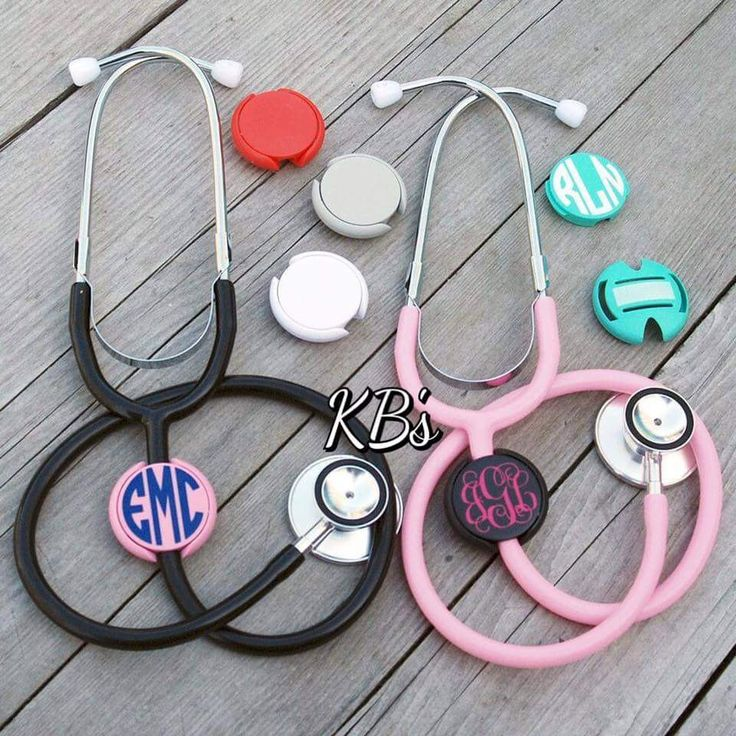 stethoscope name tag id covers  personalized  nurse