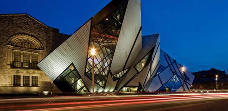 Royal Ontario Museum. I love this building.
