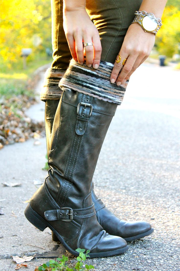 Boot cuffs | Women's boot cuffs | Boot toppers. Boulder Kuhfs styled by Street Chic Style.IMG_1922