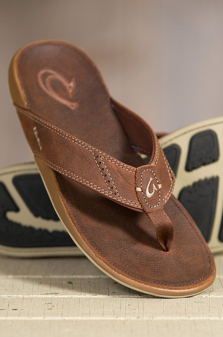 The Nui Leather sandals offer excellent craftsmanship and superior comfort for all of your summer adventures.