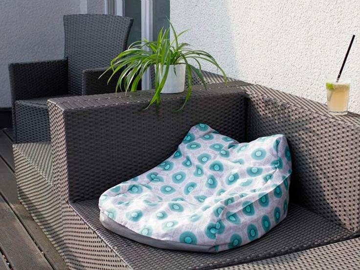 DIY-Anleitung: Sitzsack mit Lehne nähen via DaWanda.com