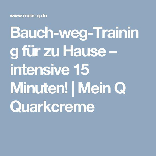 Bauch-weg-Training für zu Hause – intensive 15 Minuten! | Mein Q Quarkcreme