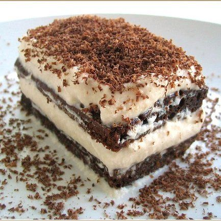 Tiramisu' alla nutella. I'll try it but I'm pretty sure its not as good as the real thing....... Maybe?....... Guess I'll have to make it and find out!