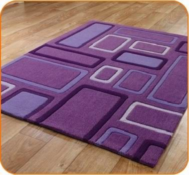Look at that shapely area rug!