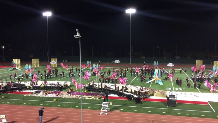 Ayala High School Marching Band 2017- A Night With India - Long Beach WBA