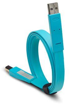 Truffol.com   Bright usb cable. #handy #colorful #tech #gadgets #essential