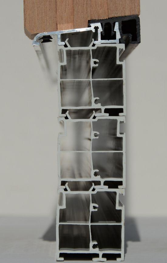 Próg drzwi zewnetrznych z pakietem 3 listew podprogowych