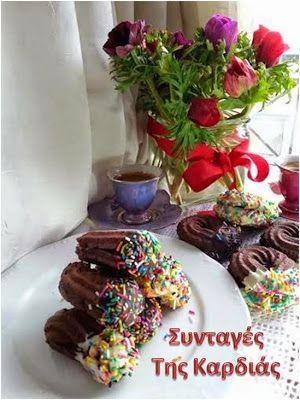ΣΥΝΤΑΓΕΣ ΤΗΣ ΚΑΡΔΙΑΣ: Πτι φουρ σοκολατένια