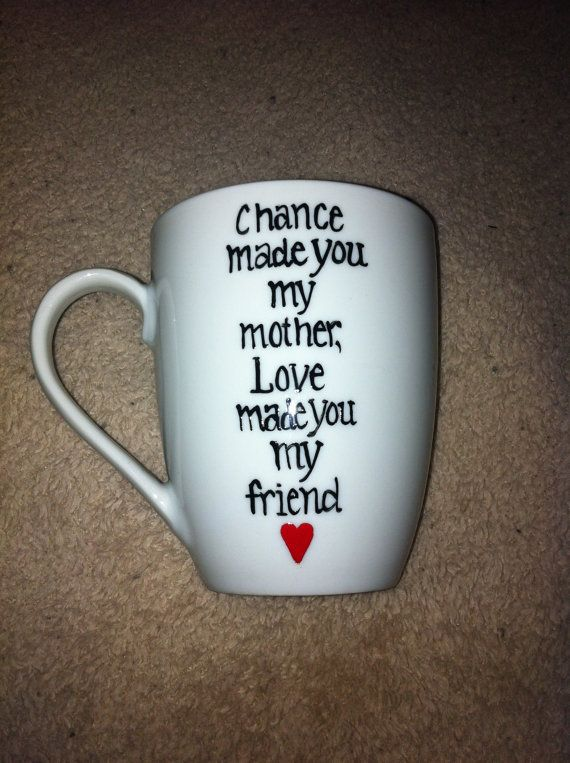Mother's Day Coffee Mug by TulaTinkers on Etsy, $8.00
