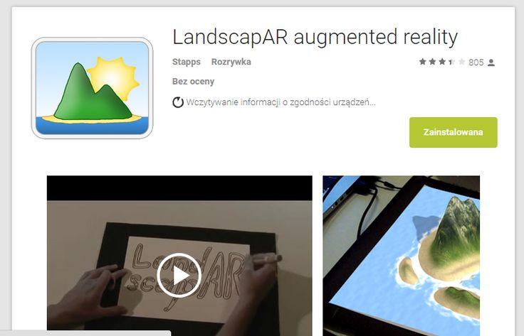 TWORZENIE KRAJOBRAZU 3D  https://play.google.com/store/apps/details?id=de.berlin.reality.augmented.landscapar