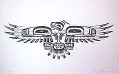 thunderbird design native american - Buscar con Google