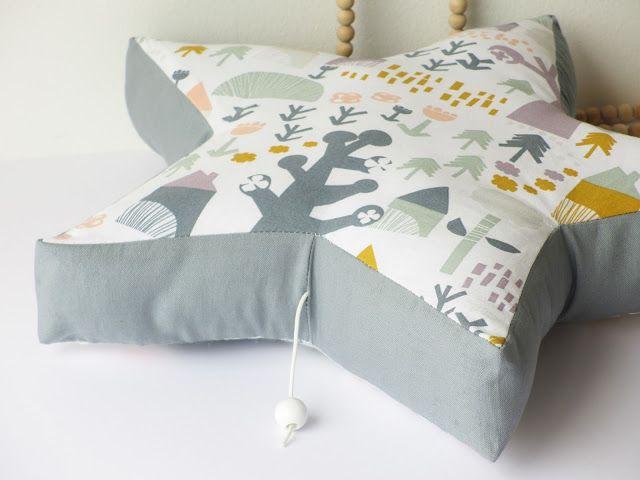 DIY - Coussin musical en forme d'étoile / Musical star cushion for baby