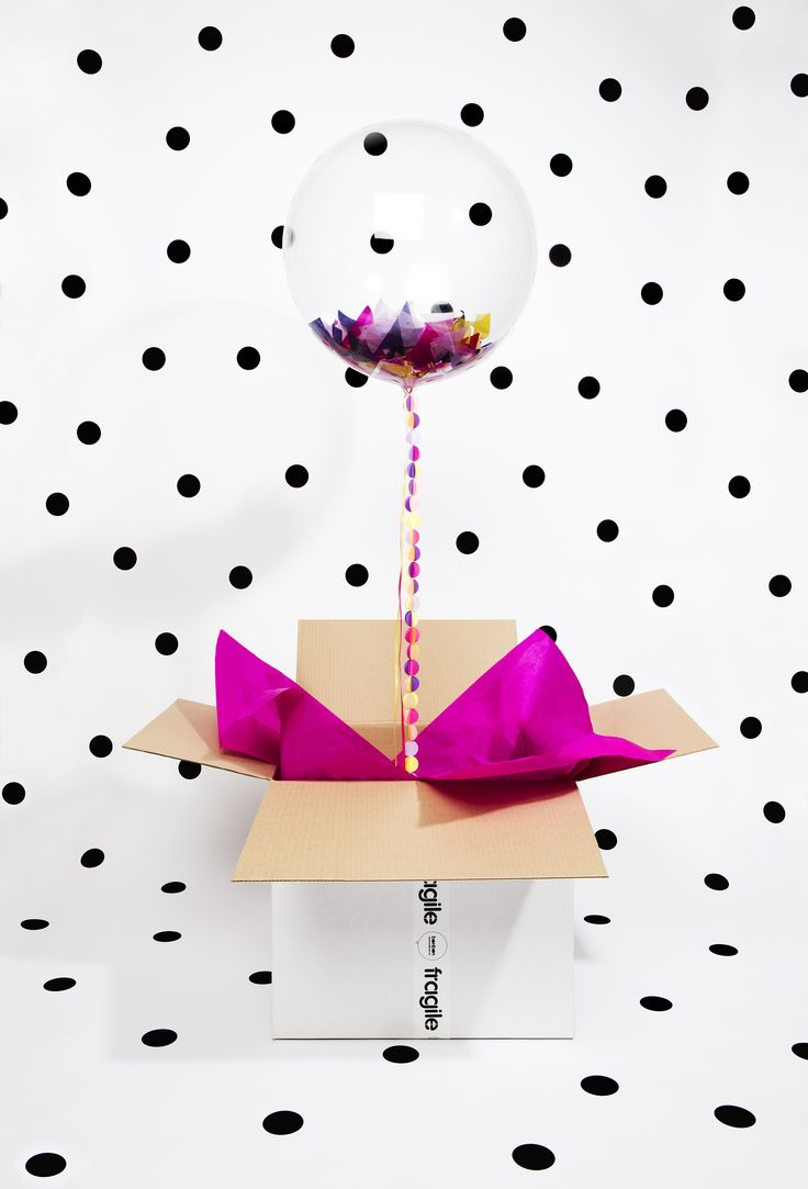 a perfect package! wouldn't mind getting these Bonbon Balloons in the mail!!