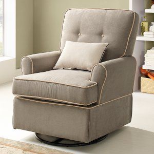 Baby Relax Tinsley Swivel Glider - Gliders & Nursery Rockers at Hayneedle $198 free ship
