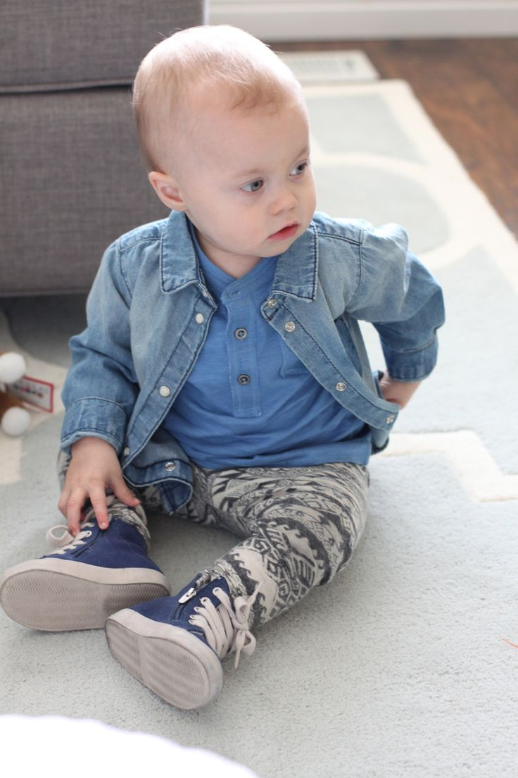Frankie's Threads: Shades of Blue. Toddler boy clothes.