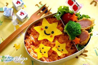 わくわくキャラクター弁当 2歳児のお弁当