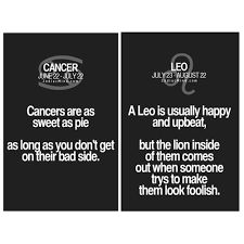 Hookup A Cancer Leo Cusp Man