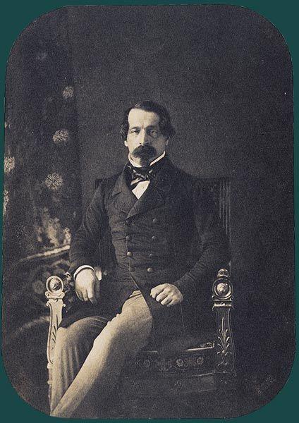 'Portrait de Louis-Napoléon Bonaparte en Prince-Président', 1852 / Gustave LeGray