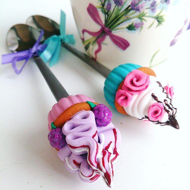 Капкейки на заказ     ________________________ Все ложечки в группе Вк по альбомам,активная ссылка в профиле ⬆ здесь ➡ #lerasandrovna_crafts #spoon #kitchen #cucina #kitchenwear #handmade #polymerclay #worldbestideas #icecream #cake #cupcakes #вкусныеложечки #ложечки #праздник #дети #торт #подарки #свадьба #идеи #мороженое #ручнаяработа #Казань #рукоделие #творчество #полимернаяглина #фигурки #лепнина