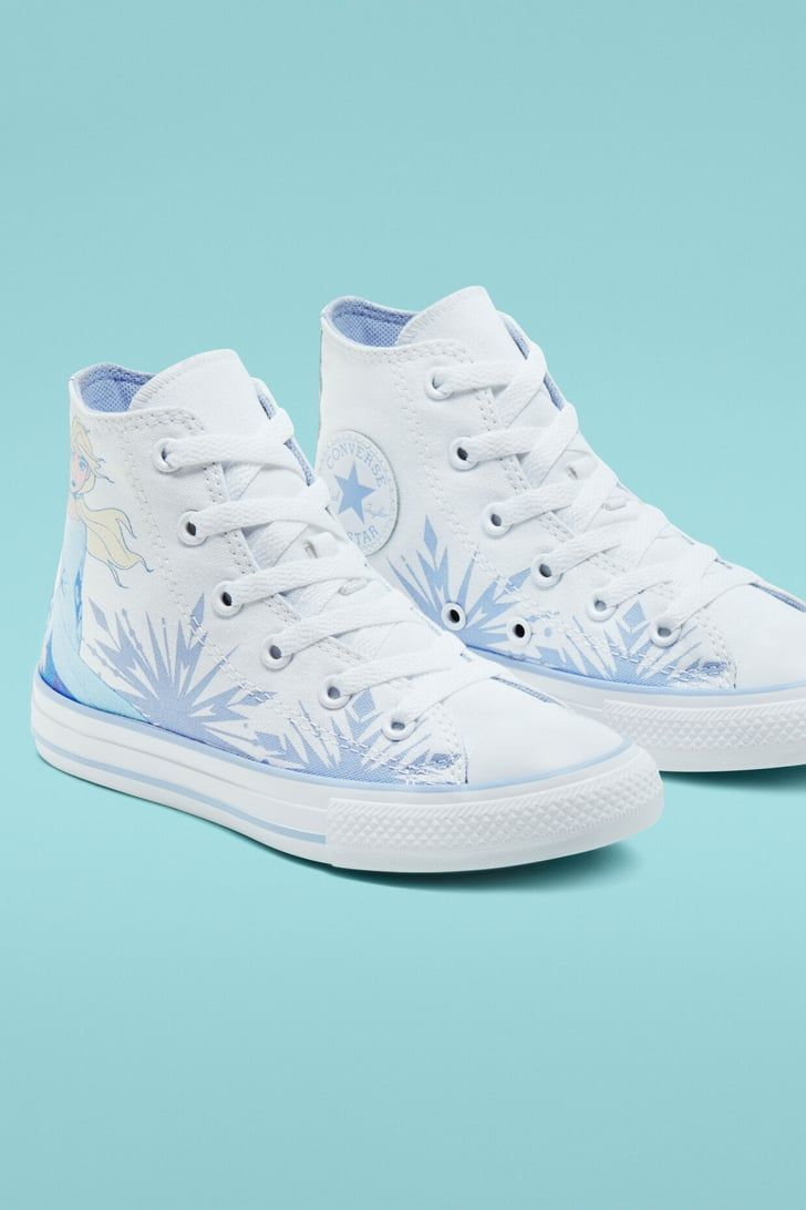 Frozen 2 Low Top Sneakers for Kids by Converse ???Black | Kids Disney Shoes