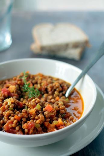 lentejas vegetarianas #lentils