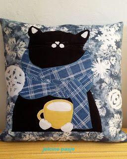 Jolcine pasje, Kot zimowy (poduszka)