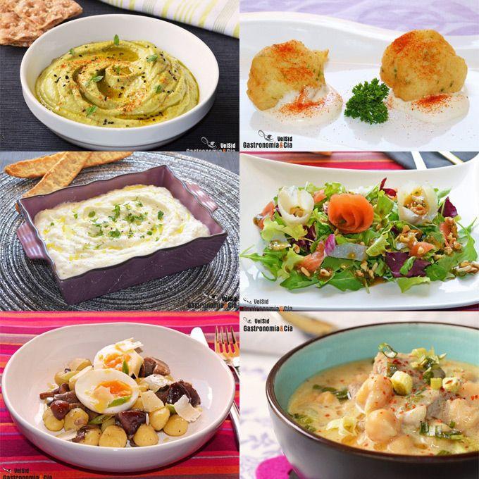 Doce recetas para hacer un menú en Semana Santa