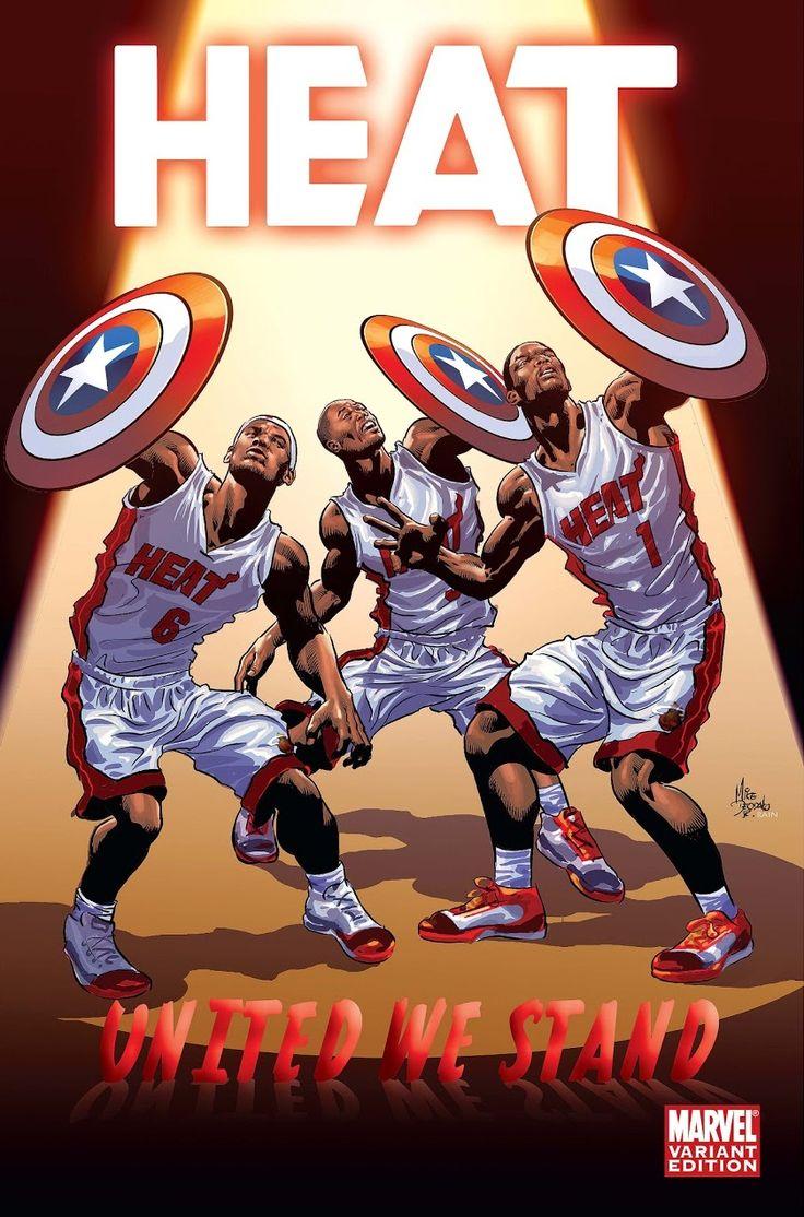 Miami Heat Comics