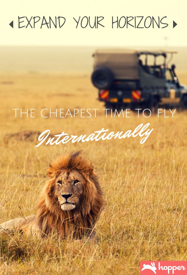Cheapest Time To Travel Internationally