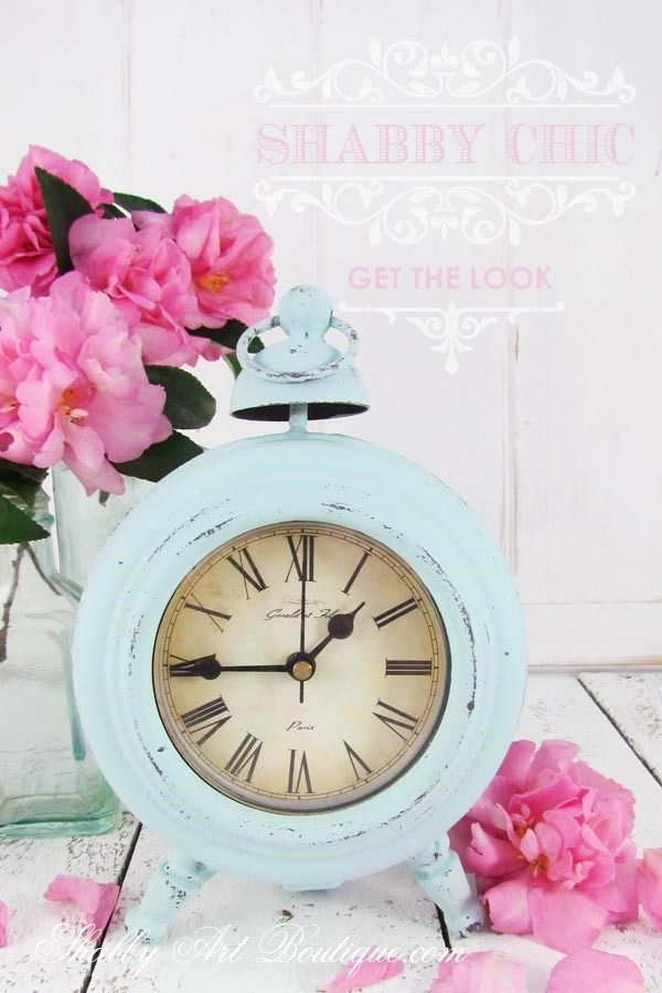 Shabby Chic… get the look! How to turn everyday thrifted items into gorgeous shabby chic homewares. Click for tutorial or pin for later. Shabby Art Boutique