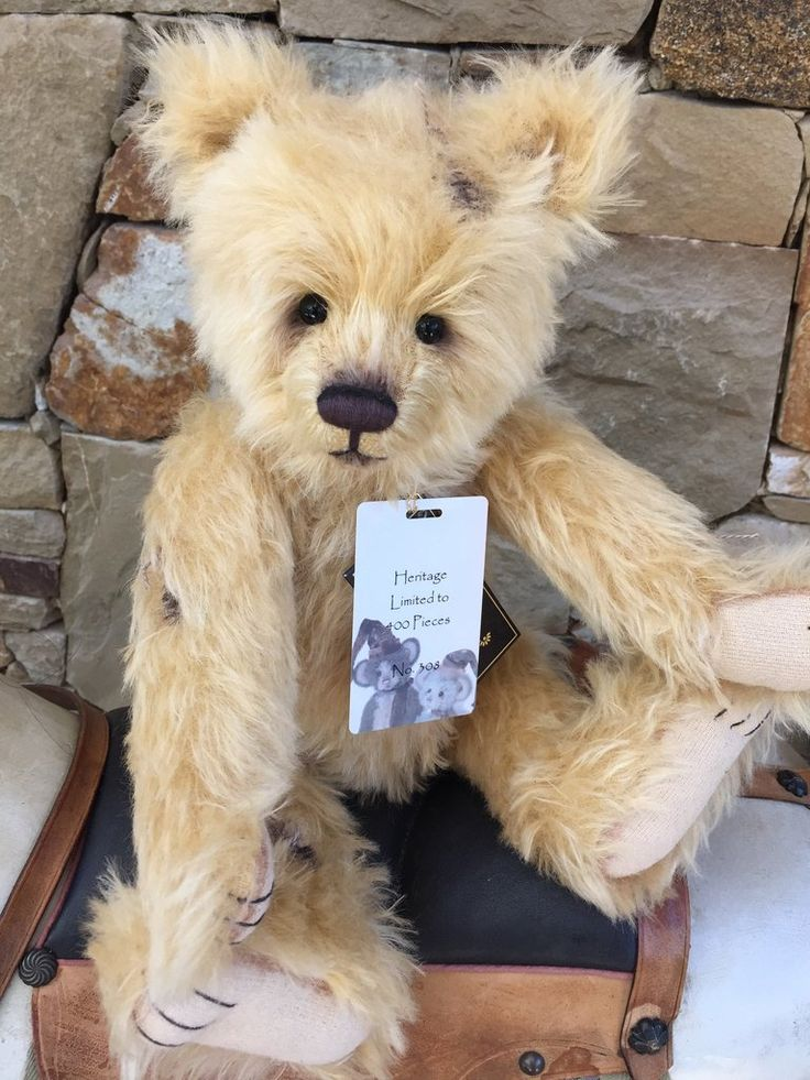 Heritage Charlie Bears Isabelle Lee Collection Mohair Bear