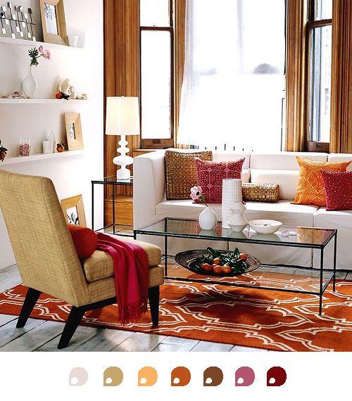 Pareti Gialle E Arancio : Migliori idee su pareti color arancio pinterest