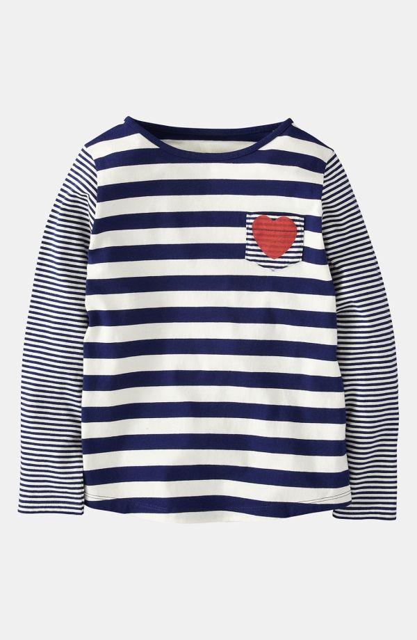 Mini Boden 'Hotchpotch' Stripe Top (Little Girls & Big Girls) by lea